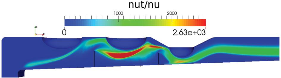 Vista de Análisis numérico del comportamiento térmico y