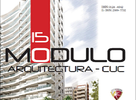 Módulo Arquitectura - CUC / Barranquilla, Colombia / No. 15 / Diciembre 2015 / pp. 1-142 / ISSN: 0124-6542/ E-ISSN: 2389-7732   Calle 58 No. 55 - 66. Teléfono: (575) 3362224 / Barranquilla - Colombia / revistamodulo@cuc.edu.co